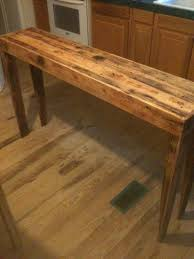 Narrow Sofa Table Pine Sofa Tables Fjellkjeden Net