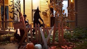 halloween graveyard gate