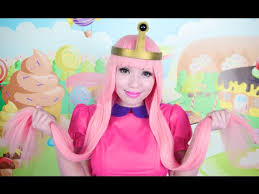 Princess Bubblegum Halloween Costume Adventure Princess Bubblegum Makeup Tutorial