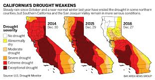 california drought map january 2016 is california s drought ending powerful storms pound state