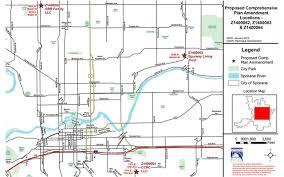 Spokane Washington Map Comprehensive Plan Amendment Cycle 2014 2015 City Of Spokane