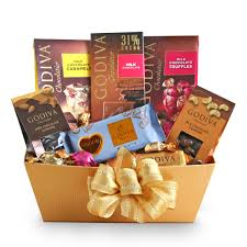 chocolate gift basket golden godiva milk chocolate gift basket wine shopping mall