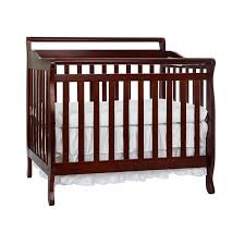 interior babyletto hudson in convertible crib with toddler rail