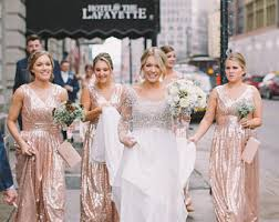 sequin bridesmaid dresses gold sequin bridesmaid dress blush gold bridesmaid