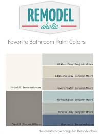 Painting Ideas For Bathroom Colors Best 25 Bathroom Paint Colours Ideas On Pinterest Bathroom