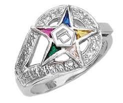 star rings silver images Ladies 0 925 sterling silver or vermeil masonic jpg