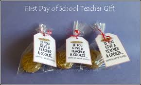 school gifts if you give a a cookie back to school gift