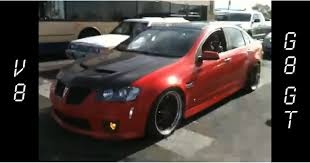 crazy loud pontiac g8 exhaust youtube