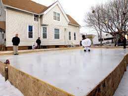 diy ice rinks rally families neighbors onmilwaukee
