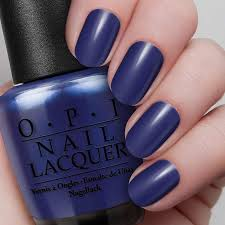blue my mind nail lacquer opi