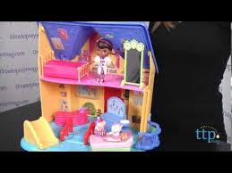 doc mcstuffins playhouse doc mcstuffins doc is in clinic playhouse from just play youtube