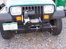 jeep front bumper bumper mounting kit for jeep wrangler yj tj