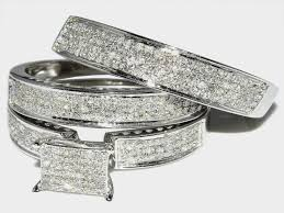 cheap wedding sets for him and wedding rings cheap bridal sets walmart wedding bands his and