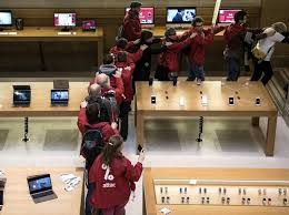 paris apple store apple files lawsuit against the activists that occupied its paris