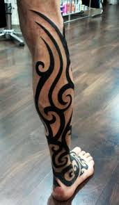 102 graceful tribal tattoos for leg
