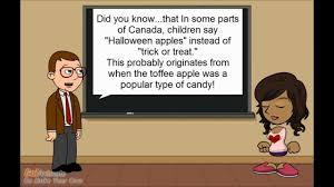 do canadians say u0027halloween apples u0027 or u0027trick or treat u0027 youtube