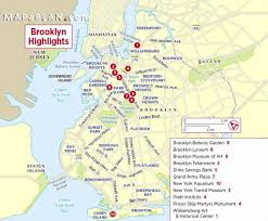Map Of Manhattan New York City by New York City Attractions Map In Addition New York Tourist