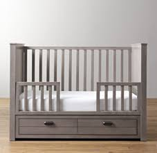 Converting A Crib To A Toddler Bed Storage Panel Crib Toddler Bed Conversion Kit