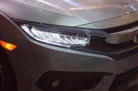 honda civic headlight 2016 honda civic sedan revealed with sharper design available