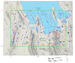 Utah Idaho Map Supply by Tooele 30 U2032 X 60 U2032 Quadrangle Geologic Map U2013 Faults Lakes And