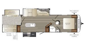 keystone travel trailer floor plans keystone outback 325bh travel trailer for sale