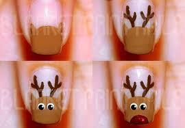 diy christmas nail art design u2013 best simple home manicure trend