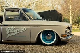 vintage datsun low and slow a datsun 520 pickup players style speedhunters