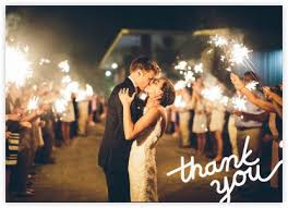 wedding thank you notes at paperless post