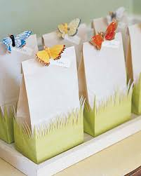 wedding gift bags ideas handmade party favors martha stewart
