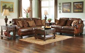 New Leather Sofas For Sale Benchcraft Leather Rustic Sofas