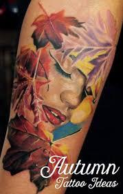 seasonal tattoo designs u0026 ideas autumn tatring