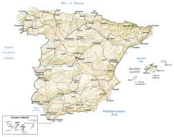 Alicante Spain Map by Map Of Spain By Phonebook Of Spain Com