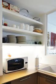 cuisine avec etagere etagere cuisine bois tagre bistrot dans la cuisine avec une palette
