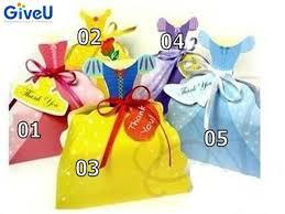 cinderella wrapping paper giveu 10pcs lot princess dress paper candy box cinderella