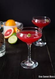 martini cosmo blood orange cosmo one sweet mess