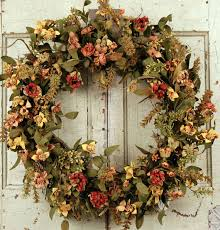 fall wreaths autumn decorating ideas bright bold and beautiful