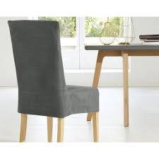 housse de chaise housse de chaise en velours becquet curry becquet linge de
