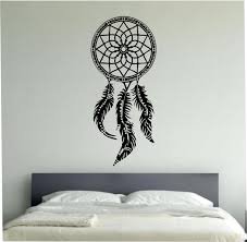 dream catcher wall decal sticker vinyl art decor bedroom design room dream catcher wall decal sticker