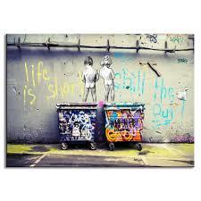 Graffiti Art Home Decor Online Get Cheap Banksy Life Aliexpress Com Alibaba Group