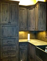 Crackle Paint Kitchen Cabinets Gray Kitchen Cabinets Distressed Faux Finishing Cabinets And