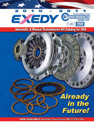 exedy 2010 oem catalogue