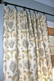Blue Ikat Curtain Panels This Is The Exact Fabric I M Looking For Grey Blue Yellow Ivory