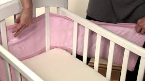 Dexbaby Safe Sleeper Convertible Crib Bed Rail by Baby Bed 2014 How To Install A 4 Sided Amazon Feature Youtube