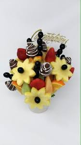 chocolate covered fruit bouquet everything bouquet fresh fruit bouquets arrangements chocolate