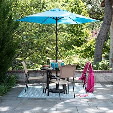 5 Pc Patio Dining Set Outdoor Oasis Melbourne 5 Pc Glass Patio Dining Set With