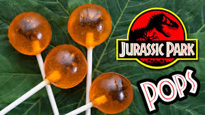Nerdy Nummies Halloween Cakes Jurassic Park Amber Fossil Lollipops Nerdy Nummies Youtube