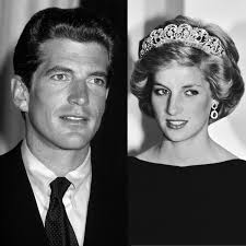 john f kennedy junior when j f k jr met princess diana how they pulled off a top