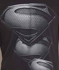 free authority black patterned superman logo tee buy free