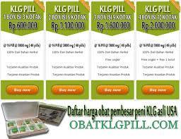 harga obat klg pembesar alat vital pria obat klg pill