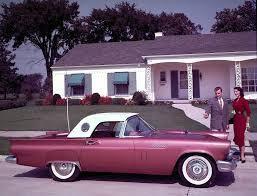 1955 ford thunderbird milestones